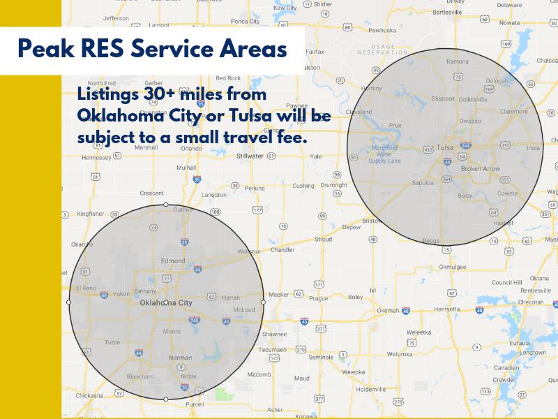 Peak Res Service Areas